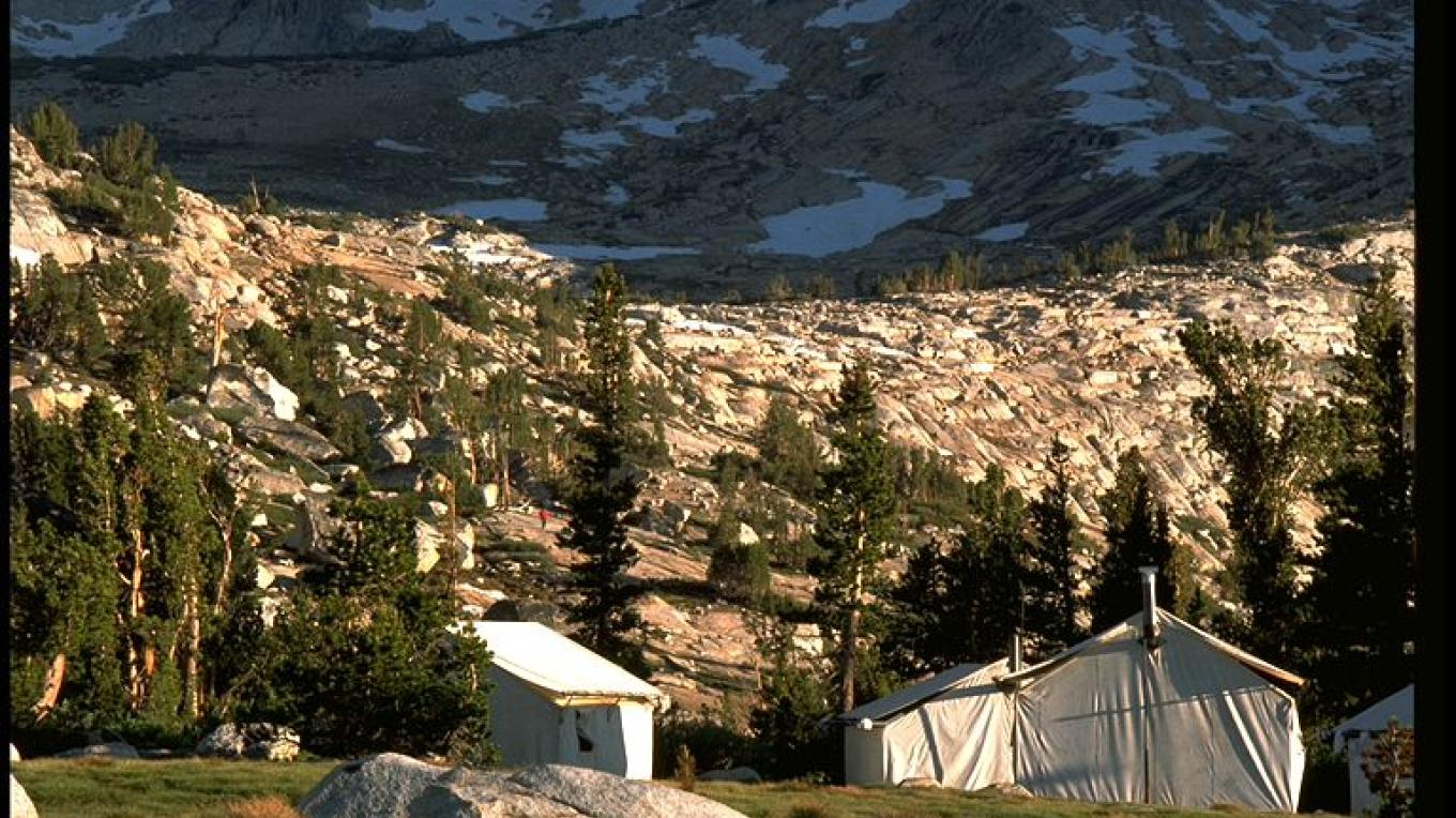 Vogelsang High Sierra Camp tent cabins