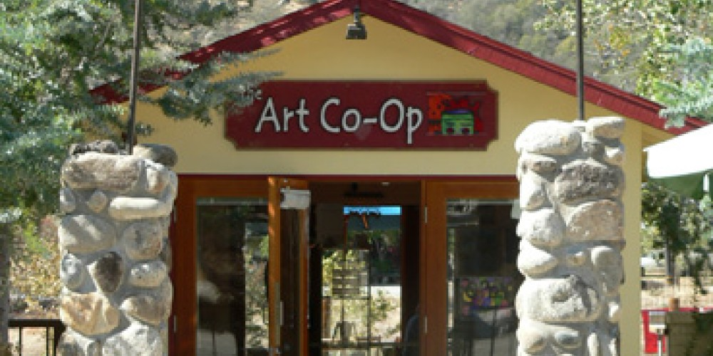 The Art Co-op in Three Rivers, CA – Nadi Spencer