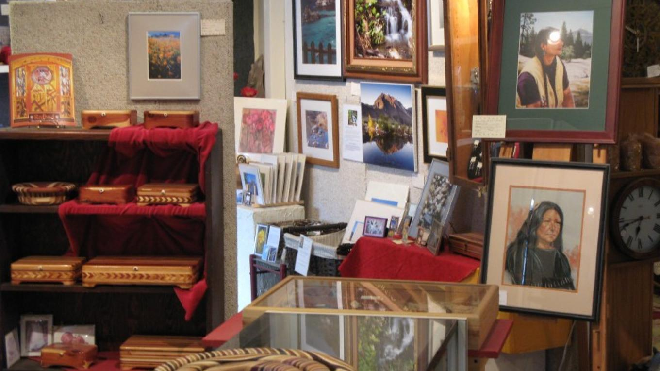 View of Gallery Walls – Chuck Barbee