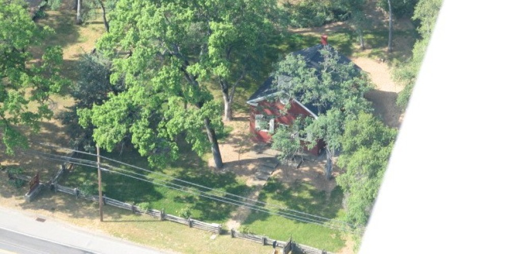 Aerial View of Altaville School House – W Laws