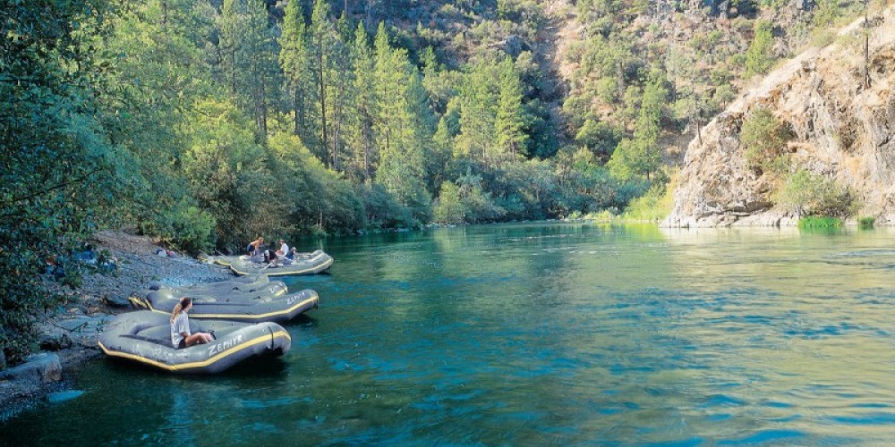 Main Tuolumne Put-in at Meral's Pool – Picture This - Rapid Shooter