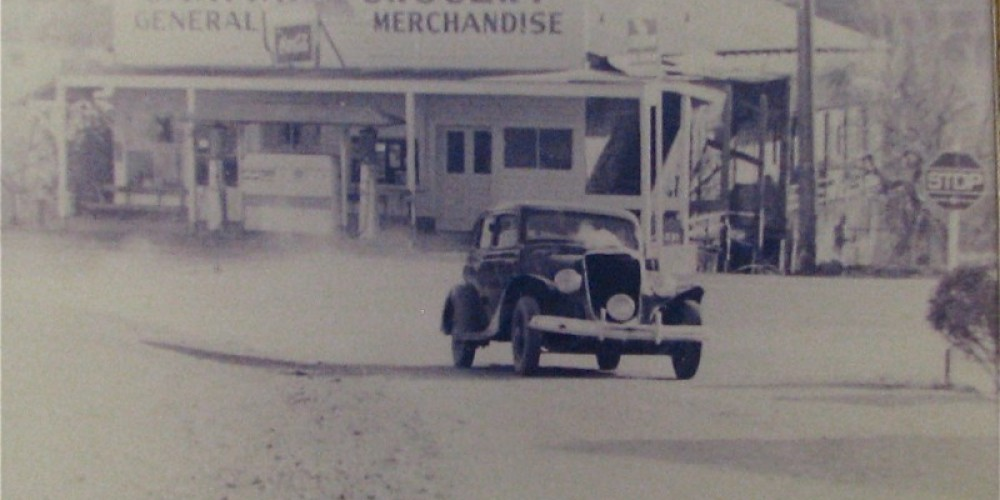 The story behind the service station is exciting, full of history and still beloved! – Karrie Lindsay