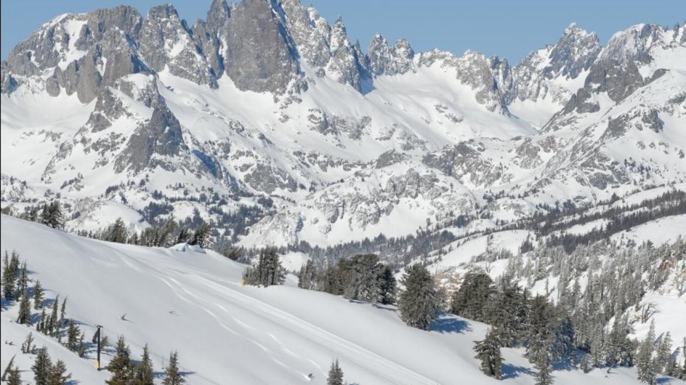 Minarets and Mammoth Mountain Ski Area – Brad Peatross