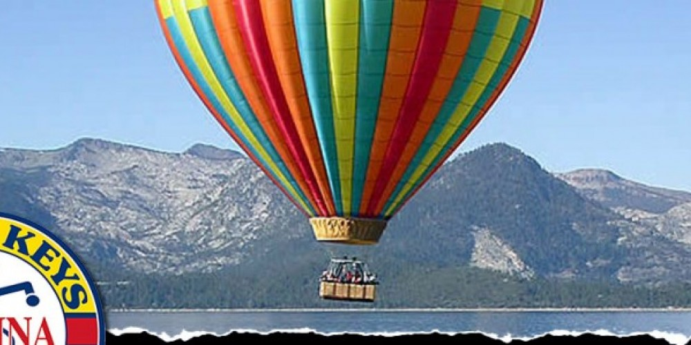 Hot air balloon rides. – Staff