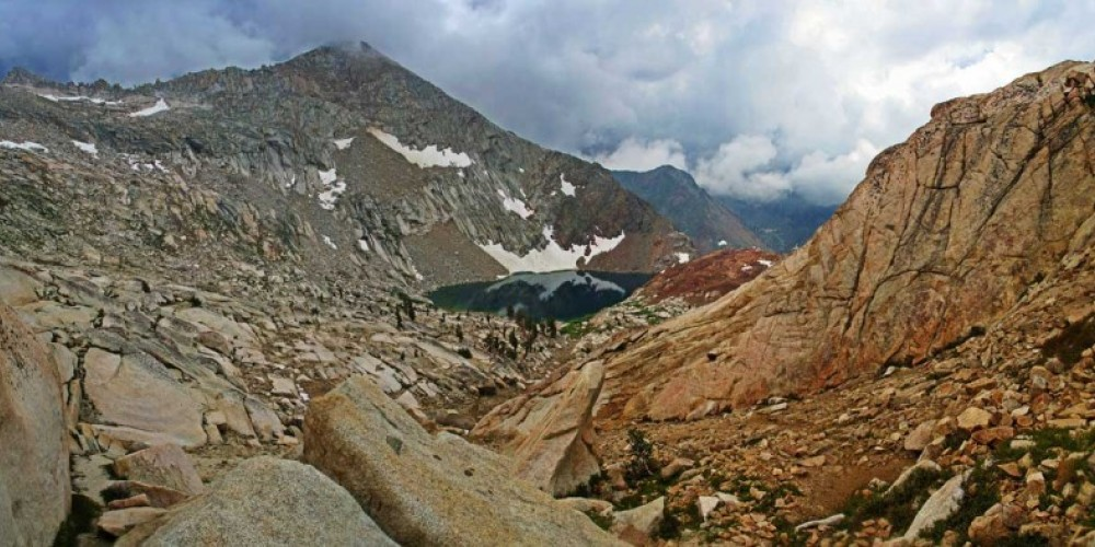 Sure-footed hikers can scramble above Crystal Lake. – RCain/NPS