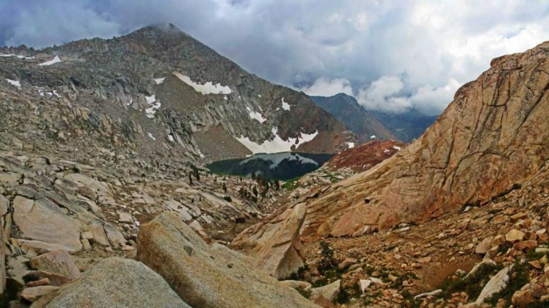 Sure-footed hikers can scramble above Crystal Lake. – RCain/NPS