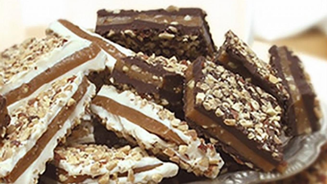 We offer English Toffee in Milk, White, Dark Chocolates