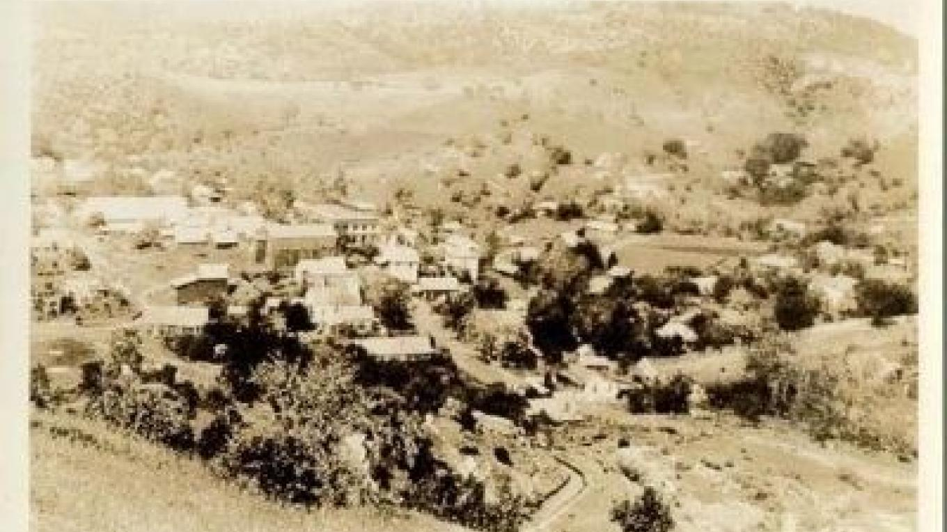 Postcard of Mokelumne Hill circa 1910 – Unknown/hmdb.com