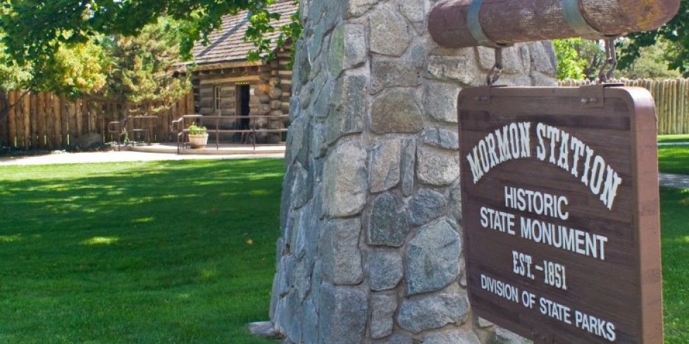 The Mormon Station State Historic Park is located in Genoa, Nev. – Ryan Jerz