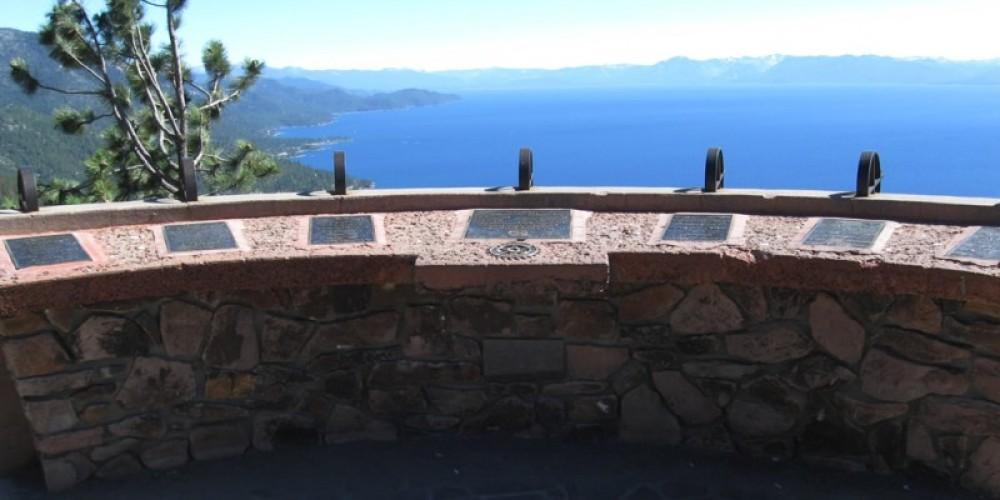 Veiw of Lake Tahoe from Overlook on Highway 431 – AARoads