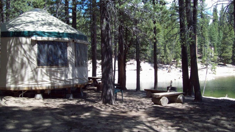 the Yurt on the lake – Vickie Taton