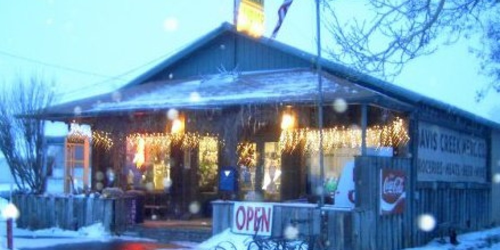 Davis Creek Mercantile winter – N. Forrest