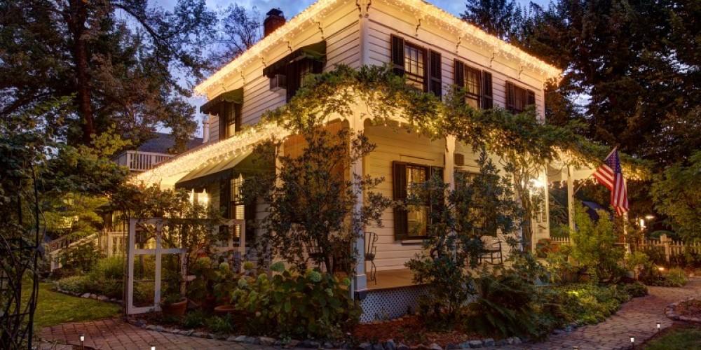 The Dunbar House Inn and Event Property in Murphys, California. http://www.dunbarhouse.com – digimanstudio.com