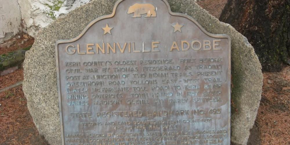Glennville Adobe Marker – Syd Whittle
