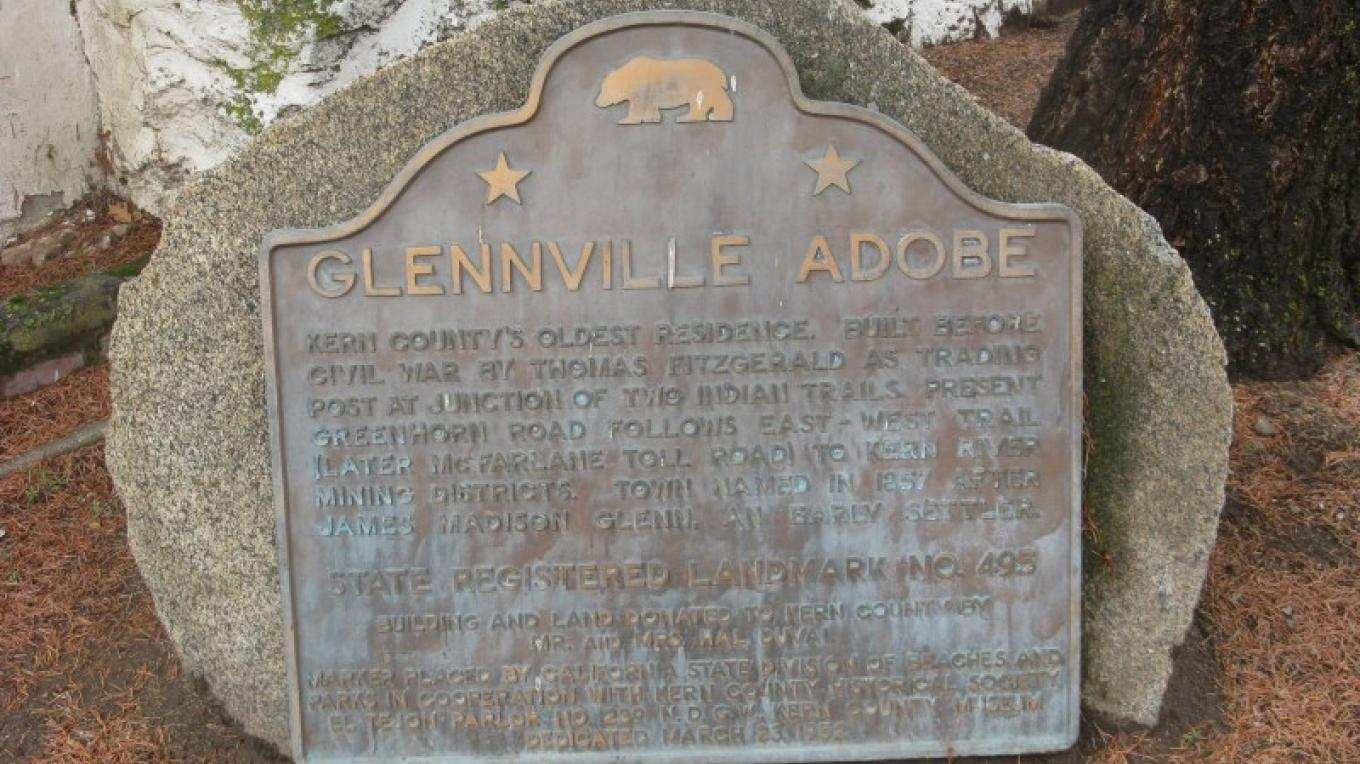 Glennville Adobe Marker – Syd Whittle