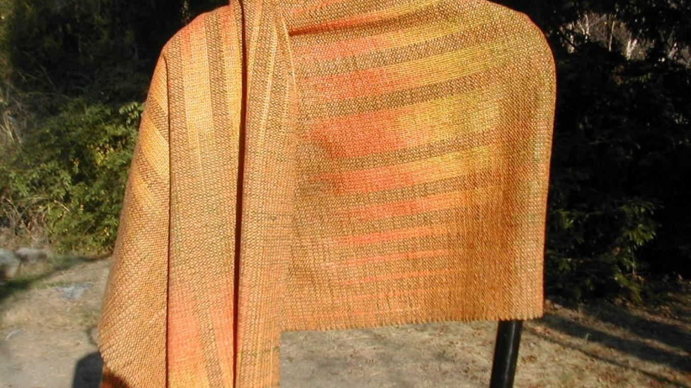 Golden Sunrise Shawl – Nikki Crain