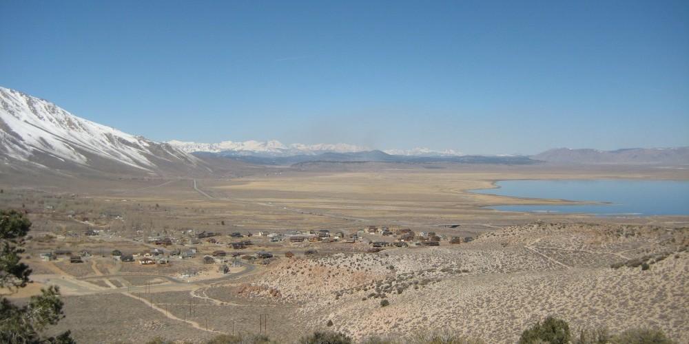 View of Crowley Lake – ESLT Staff