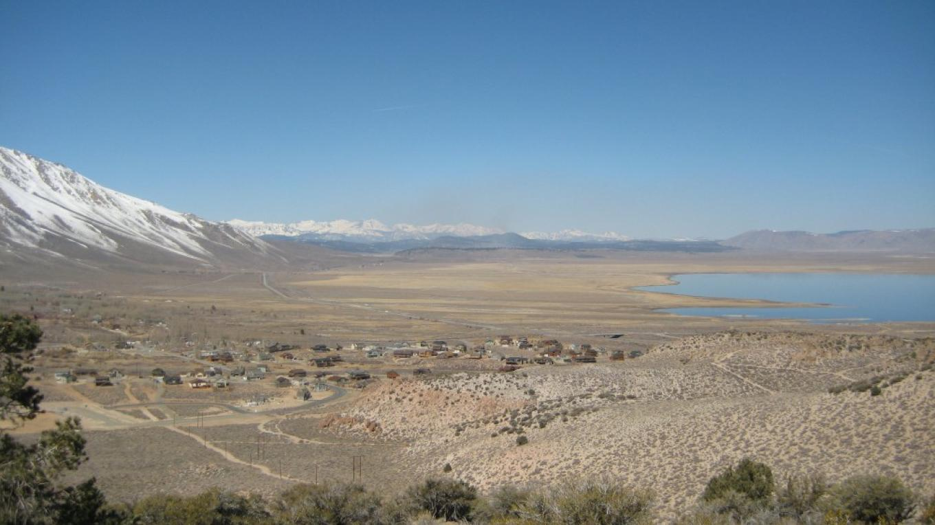 View of Crowley Lake – ESLT Staff