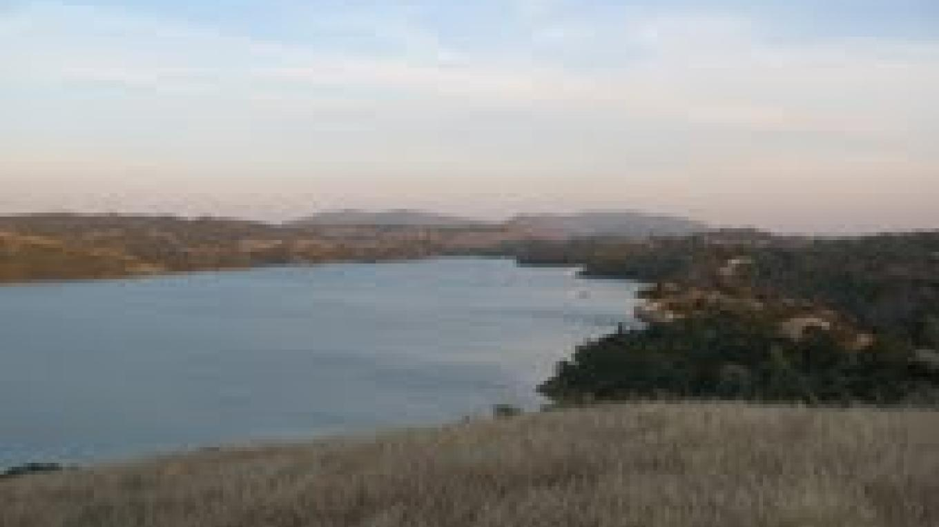 View of Comanche Reservoir where Lancha Plana used to be – Panoramiophotos.com