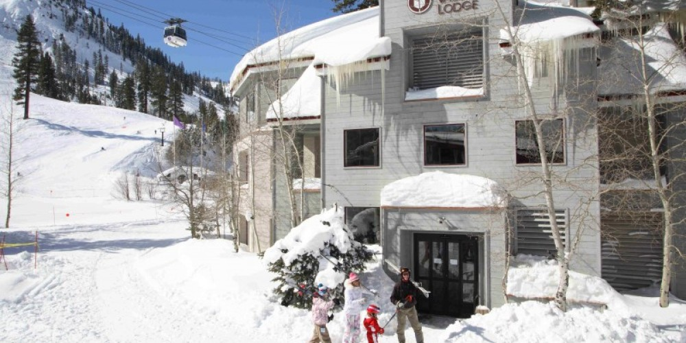 Ski-in/Ski-out Squaw Valley Lodge – Tony George