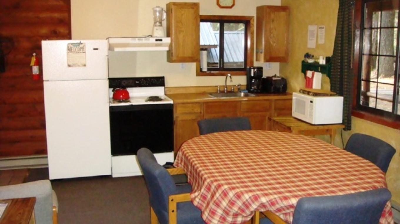 Wild Plum cabin kitchen – R. Hertzberg