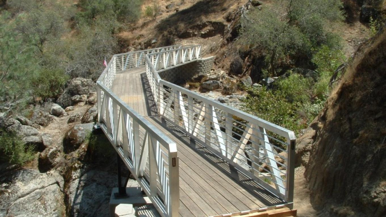 Completed Bridge at Big Sandy Creek - Reach 2 – Steve Haze