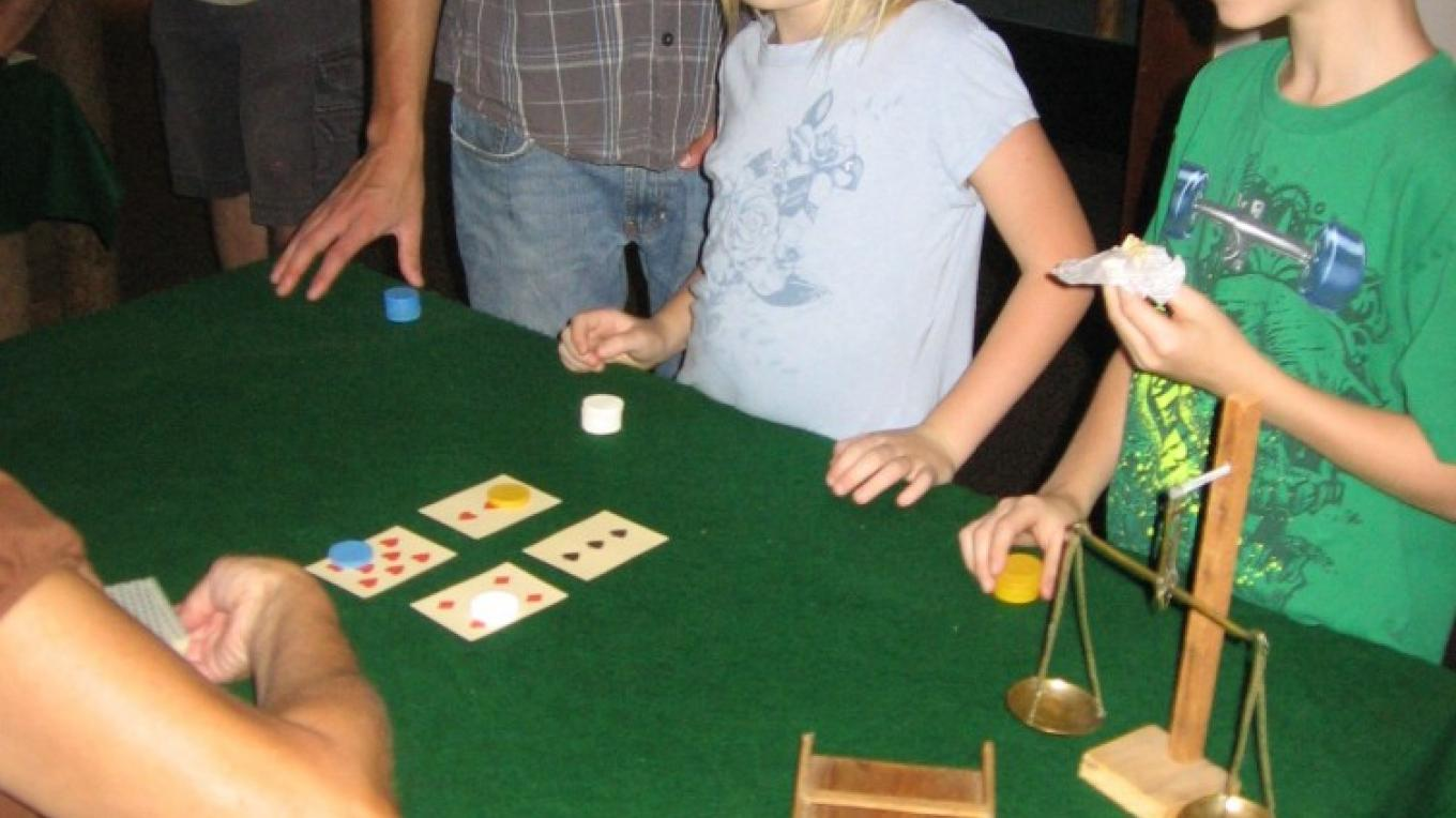 Card Game in a Gold Rush Tent Saloon – Placer County Museums