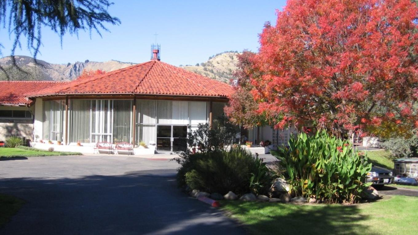 front view of St. Anthony Retreat Center