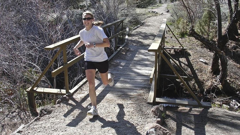 Great cross country running – Joel Rathje