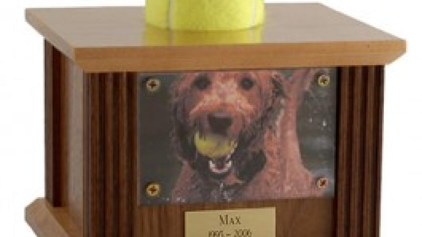 Tennis Ball Dog Urn – Tyler Fraser