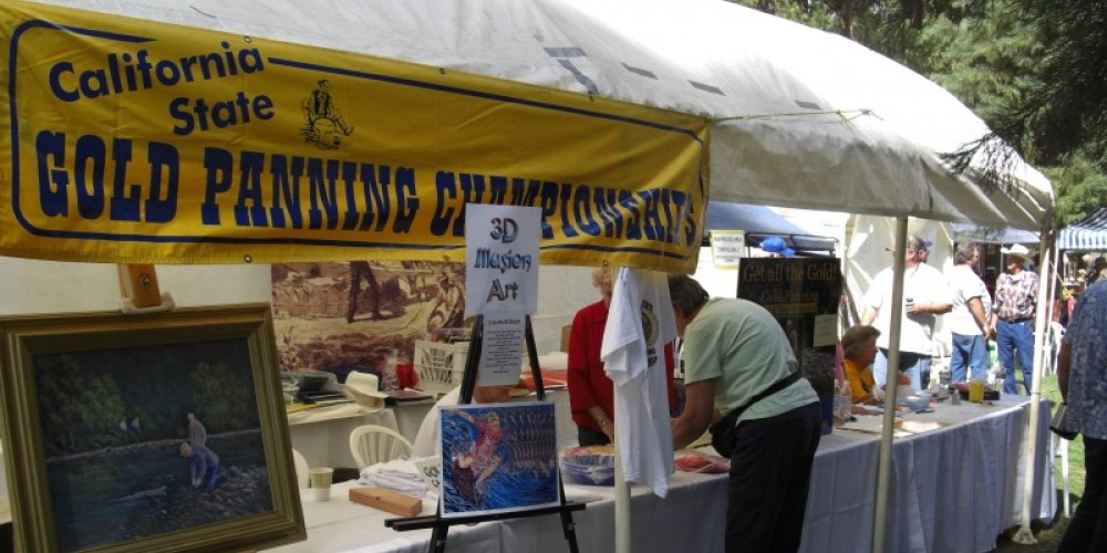 Hosting the California and National Gold Panning Championships – Debbie Griffin