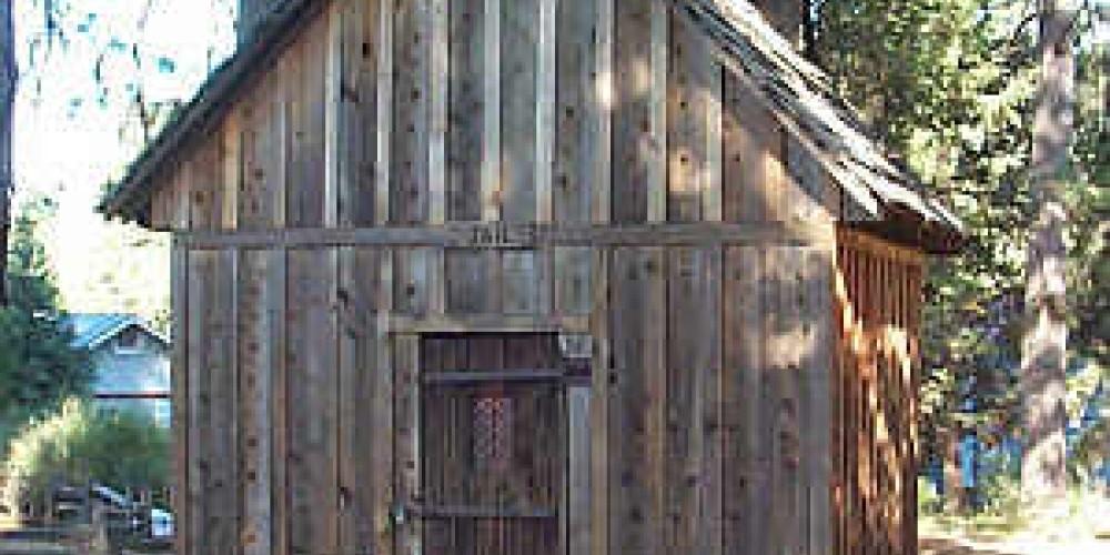 Original Forest Hill Jail – Forest Hill Divide Museum