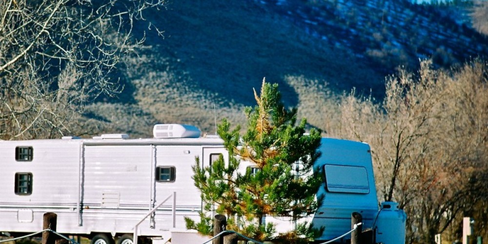 On the grounds at Sierra Valley RV Park – Zachary S. Shea