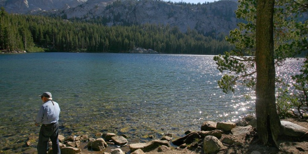 Fishing in the Mammoth Lakes Basin – Rick E. Martin