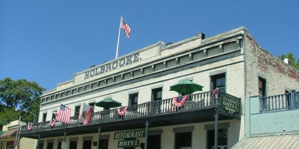 Holbrooke Hotel  Calif. Landmark 916 – H. Levine (collection)
