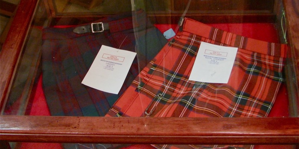 Heather in the Hills has classic Scottish dress. – Karrie Lindsay