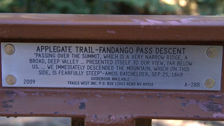 Lassen Applegate Trail Marker – Lorissa Soriano