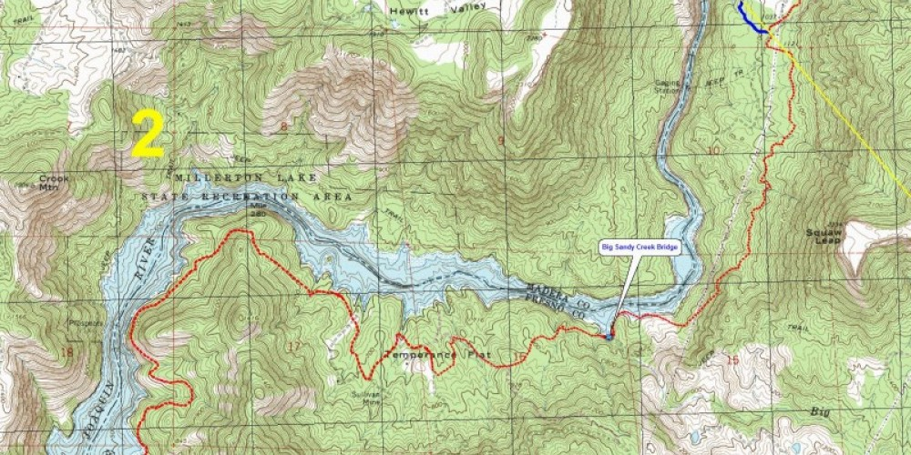 Map of Reach 2 - Four Season Multi-use Trail from Finegold Cove to SJR Gorge – Mike Smith