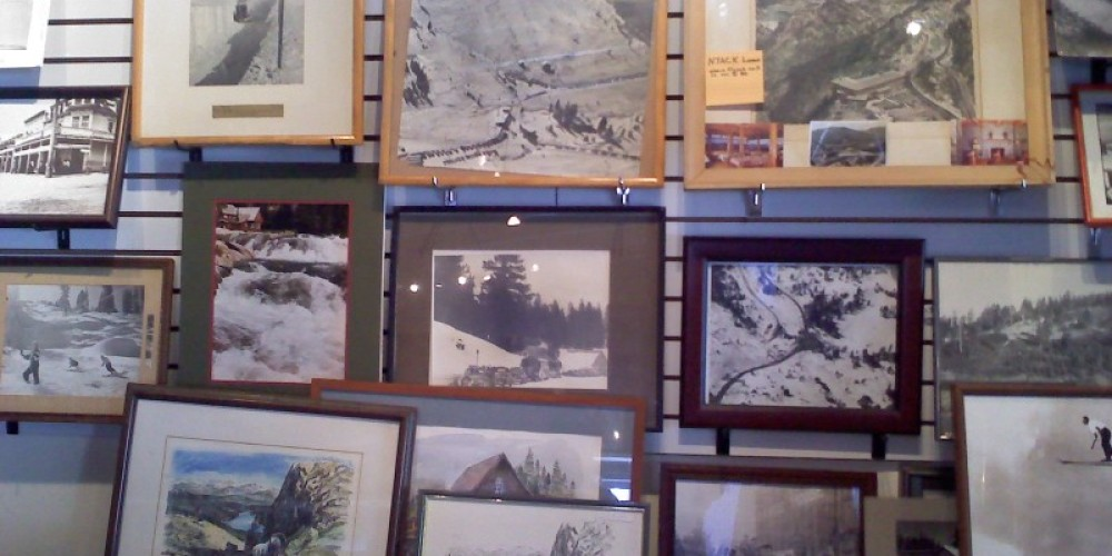 Inside Visitor's Center @ Donner Summit Historical Society – C. Paduano