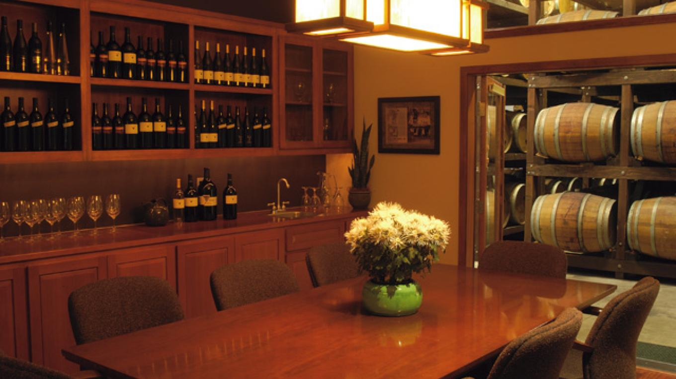 Conference Room at Boeger Winery