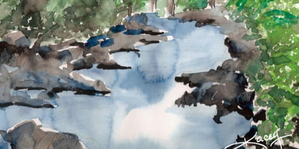 Watercolor by Kacey Fansett. – Kacey Fansett