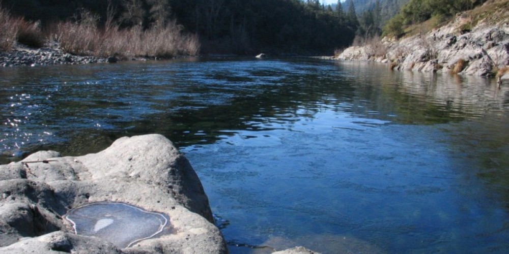 On the river. – Placer Land Trust staff