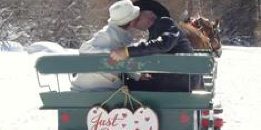 Wedding on the sleighride – Dwight Borges