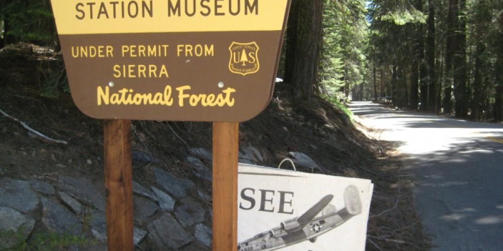 Sign on  Huntington Lake Road – Eugene Dunsmore
