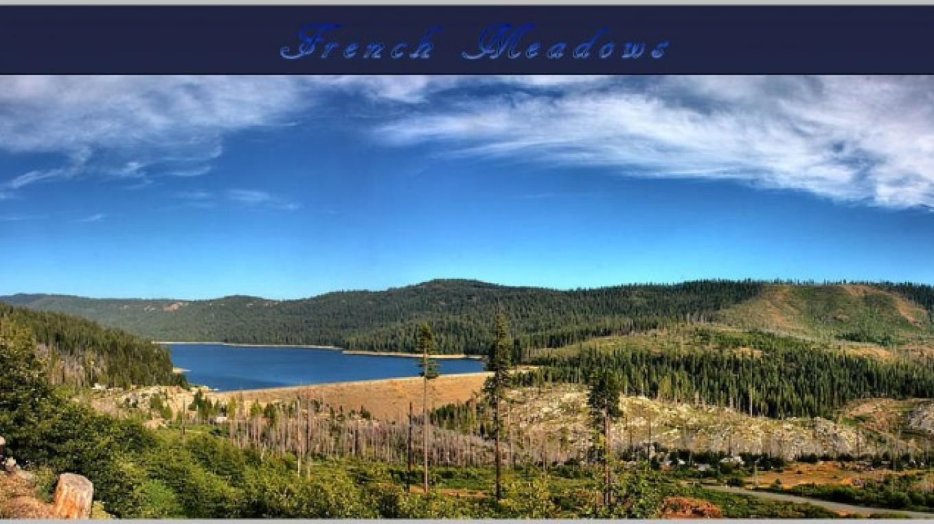 French Meadows Reservoir – Darin Pointer - www.ffgphotos.com