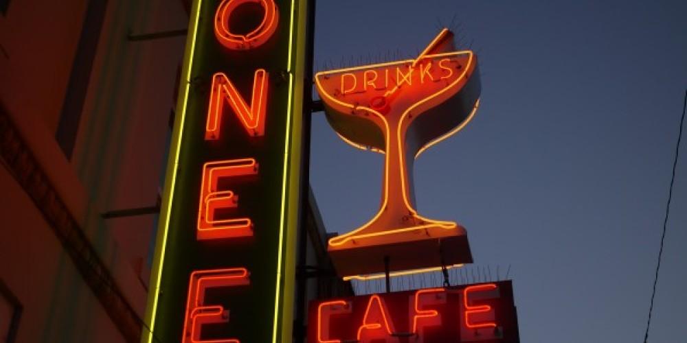 Look for the vintage neon sign in uptown Susanville – Margaret Liddiard