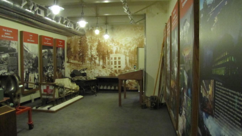 View of museum located inside John E. Bryson Powerhouse – Southern California Edison