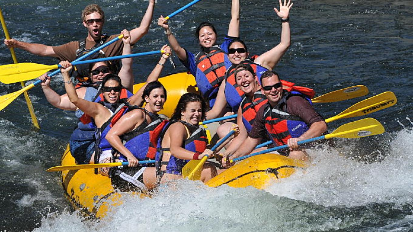 Rafting on the South Fork American River with Tributary Whitewater Tours – Hot Shot Imaging