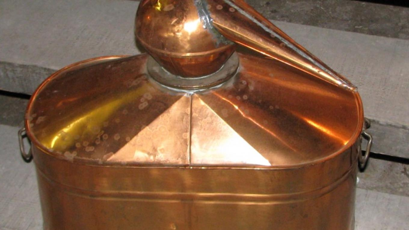 A fine copper still would have a lot of stories to tell. – Karrie Lindsay
