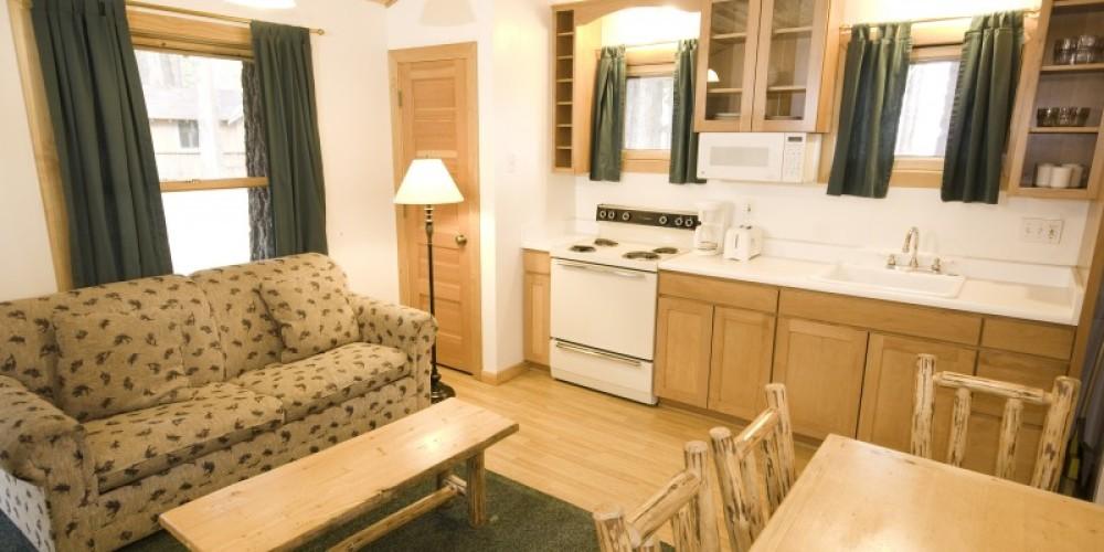 Year-round Chevy cabin – Camp Richardson Resort